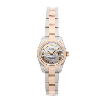 Rolex Lady DateJust 26mm White gold and steel Watches