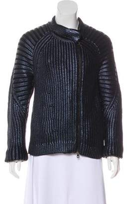 Emporio Armani Long Sleeve Zip-Up Jacket