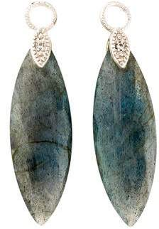 Jude Frances 18K Labradorite & Diamond Earring Charms