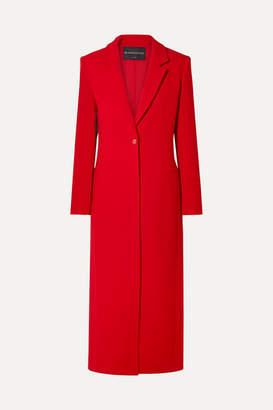 Brandon Maxwell Wool-crepe Coat - Red