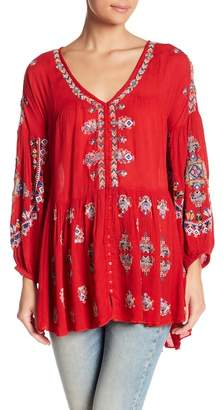 Free People Arianna Patterned Tunic