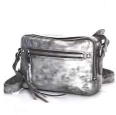 Frye Zip Leather Camera Bag
