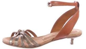 Etoile Isabel Marant Holographic Lizard Sandals