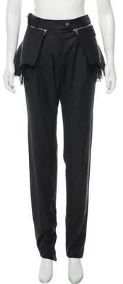 Preen by Thornton Bregazzi Mid-Rise Wool Pants