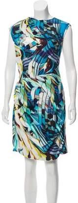 Mary Katrantzou Sleeveless Silk Dress