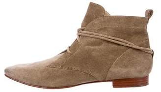 Elizabeth and James Suede Ankle Boots