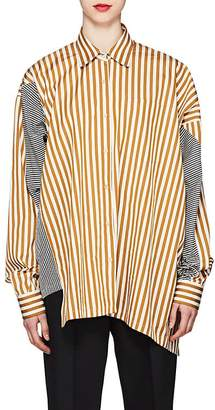 Dries Van Noten Women's Striped Cotton Poplin Blouse