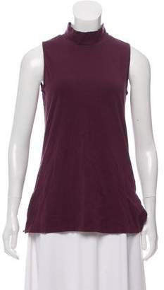 James Perse Sleeveless Mocked Neck
