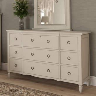 Canora Grey Harshbarger 9 Cottage Drawer Dresser