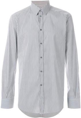 Dolce & Gabbana striped slim fit shirt