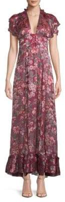 For Love & Lemons Floral Maxi Dress
