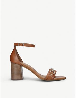 Carvela Kast leather stacked heel sandals