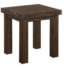 Simmons Casegoods Burnished Oak End Table