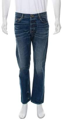 Golden Goose Cropped Straight-Leg Jeans