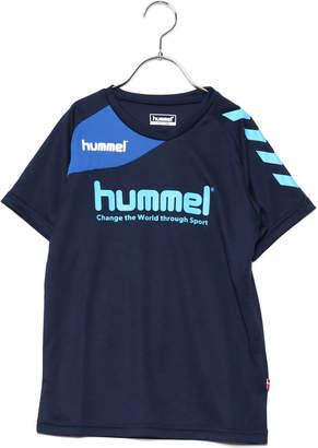 Hummel (ヒュンメル) - ヒュンメル hummel ジュニア サッカー/フットサル 半袖シャツ ジュニアプラクティスシャツ HJP1137AP