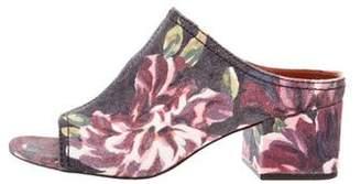3.1 Phillip Lim Printed Denim Sandals