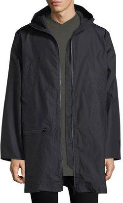 Y-3 Reversible Long Canvas Jacket $790 thestylecure.com