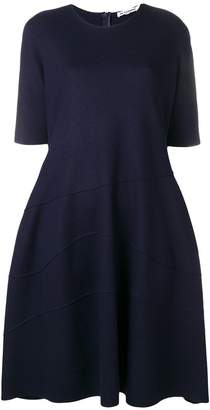 Jil Sander raised seam shift dress