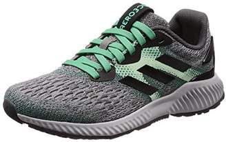 classic fit 54f10 d01e7 adidas Womenss Aerobounce W Running Shoes Core BlackAero S18Hi-Res Green
