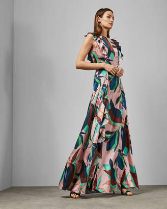 dd219a7ccdb Ted Baker PETUNAR Supernatural satin maxi dress