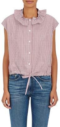 Atlantique Ascoli Women's Anémone Striped Cotton Top