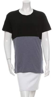 Lot 78 Lot78 Colorblock Short Sleeve Top