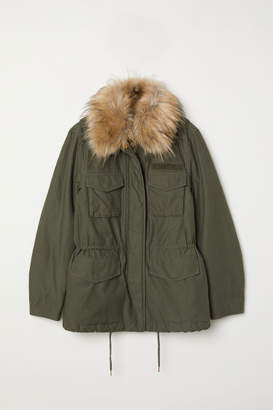 H&M Short Parka - Green