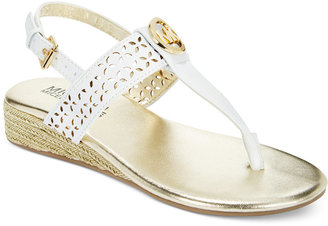Michael Kors Girls' or Little Girls' Perry Amelia Sandals $49 thestylecure.com