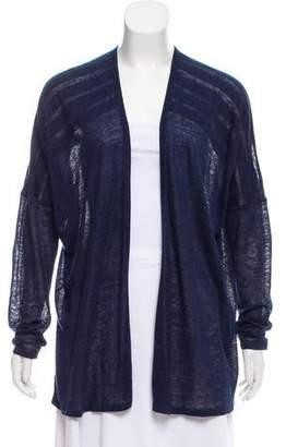TSE Linen Knit Cardigan