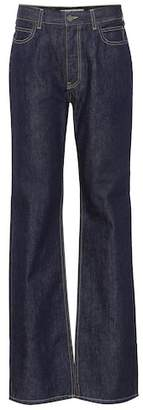 Calvin Klein High-waisted straight-leg jeans