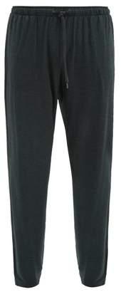 Derek Rose Basel Straight Leg Pyjama Trousers - Mens - Grey