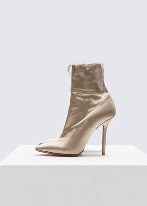 Vetements Naked Satin Ankle Boots
