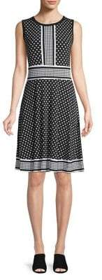 MICHAEL Michael Kors Polka Dot Shift Dress