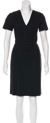 Burberry Knee-Length Short Sleeve Dress