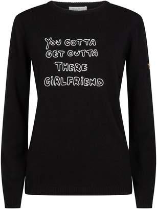 Bella Freud Girlfriend Slogan Sweater