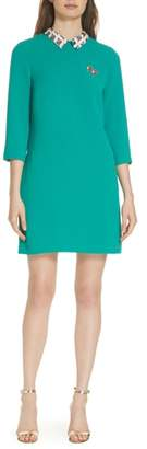 Ted Baker Colour by Numbers Print Collar Dress