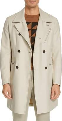 Eidos Moto Cotton Trench Coat