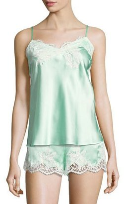 Lise Charmel Splendeur Silk-Blend PJ Camisole $176 thestylecure.com