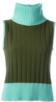Versace Pre-Owned sleeveless sweater