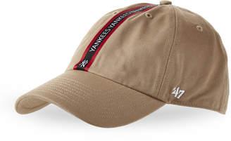 '47 New York Yankees Logo Stripe Baseball Cap