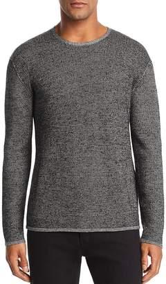 John Varvatos Collection Marled Waffle-Knit Sweater