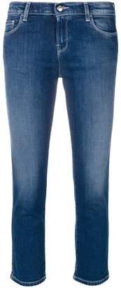 Emporio Armani cropped skinny jeans