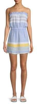 Lemlem Mimi Strapless Stripe Dress
