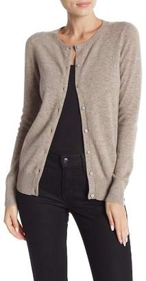 Magaschoni M BY Cashmere Crew Neck Cardigan