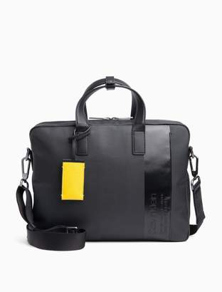 Calvin Klein Coated Twill Laptop Bag
