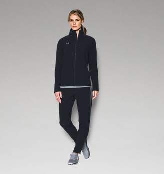 Under Armour UA Womens Squad Woven Full Zip