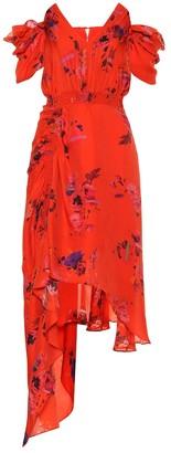 Preen by Thornton Bregazzi Dana floral silk dress