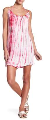 BOHO ME Tie-Dye Cover-Up Dress