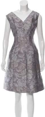 Oscar de la Renta 2016 Jacquard Dress