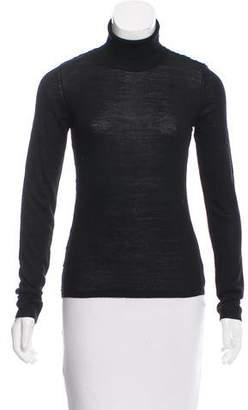 Alberta Ferretti Turtleneck Wool Sweater
